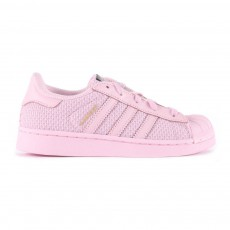 Baskets Canvas Lacets Superstar Rose pâle
