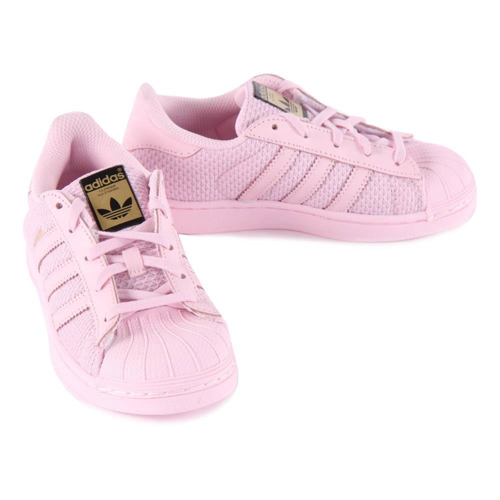 adidas superstar mujer rosas palo