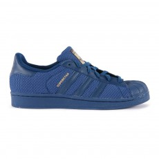 Baskets Canvas Lacets Superstar Bleu marine