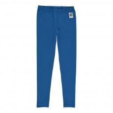 Legging Panda Coton Bio Bleu roi