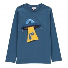 T-shirt Ovni Mint Bleu pétrole