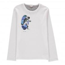 T-shirt Astronaute Madden Blanc