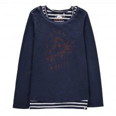 Double T-Shirt Roller Bleu nuit