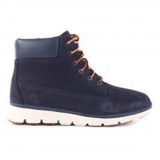 Boots Suède Zippées Semelle Sensorflex Killington Bleu marine