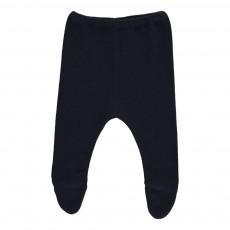 Pantalon Pieds Bleu nuit
