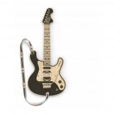 Guitare en bois connectée MP3 Woodrocker Noir