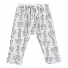 Jogger Sarouel Ours Blanc