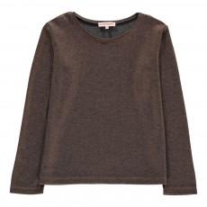 T-Shirt Lurex Maxi Cuivre