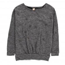 T-Shirt Etoiles Mody Gris chiné