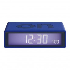 Réveil LCD Flip Bleu