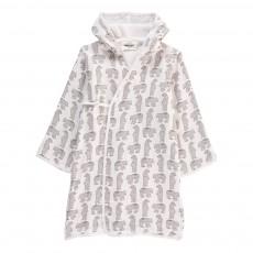 Peignoir Kimono Ours Pépin Blanc