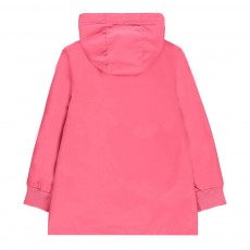Imperméable à Capuche Rose fuschia