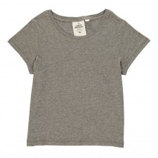 T-Shirt Cropped Had Gris chiné
