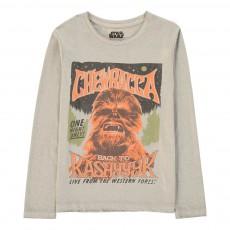 T-Shirt Chewbacca Chewb Gris