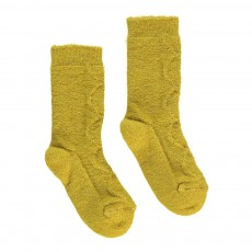 Chaussettes Baby Alpaga et Mohair Igloo Jaune