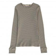 T-Shirt Rayé Breccia Ecru