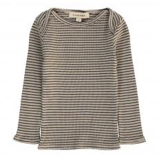 T-Shirt Rayé Breccia Bébé Gris