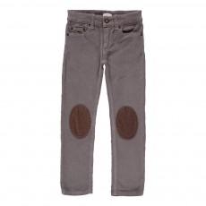 Pantalon Velours Genouillères Ziggy Gris