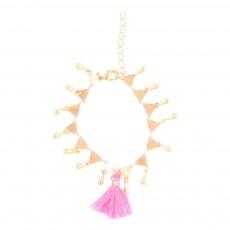 Bracelet Pompon Bathi Rose