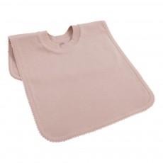 Bavoir encolure t-shirt Vieux Rose
