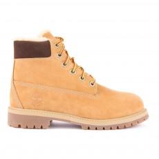 Boots Suède Fourrées 6In Premium Camel
