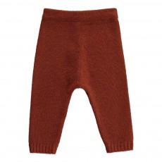 Pantalon Laine 4 Fils Rouille