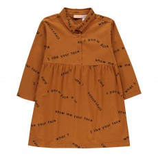 Robe Many Words Camel