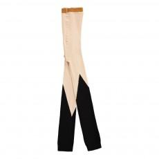Legging Bicolore Noir