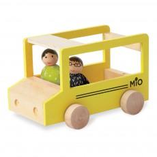 Bus scolaire avec 2 personnages Multicolore