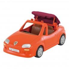 Voiture cabriolet Orange