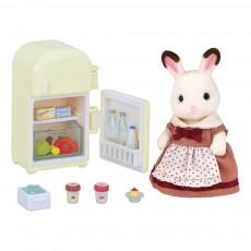 Maman Lapin Chocolat et Réfrigérateur Multicolore