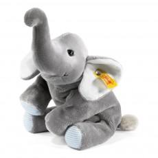 Floppy éléphant Trampili 16 cm Gris
