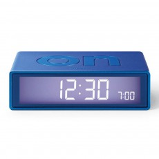 Réveil LCD Flip Bleu indigo