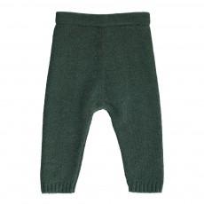 Pantalon Laine 4 Fils Vert