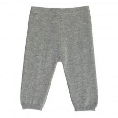 Pantalon Cachemire Gris