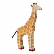 Figurine en bois girafe Multicolore