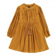 Robe Poppy Jaune moutarde