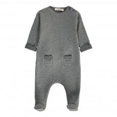 Pyjama Pois Tai Gris chiné