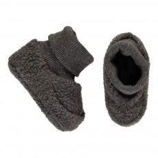 Chaussons Chaussettes Polaires Nano Gris