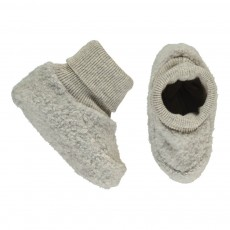 Chaussons Chaussettes Polaires Nano Gris clair