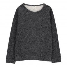 Sweat Lurex Terrible Gris