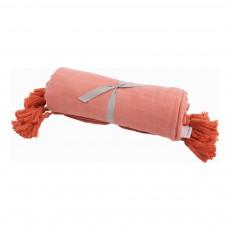 Parure de lit en coton Rose