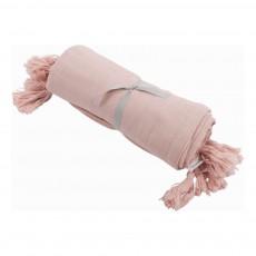 Parure de lit en coton Vieux Rose