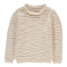 Pull Grosse Maille Clouds Ivoire