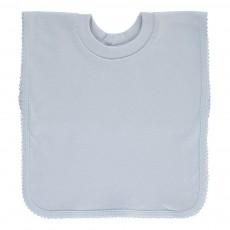 Bavoir encolure t-shirt Bleu ciel