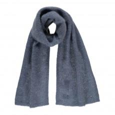 Echarpe Mohair Albina Bleu gris