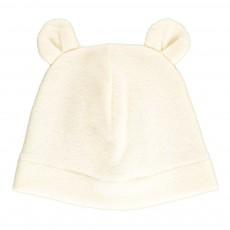 Bonnet Ourson Ecru