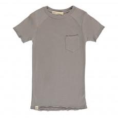 T-Shirt Col Rond Sage Pocket Gris