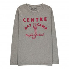 T-Shirt Flamme Daycamp Gris chiné clair