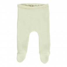 Pantalon Pieds Ecru